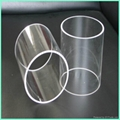 Customized High Purity Clearly Quartz Tube With Low OH