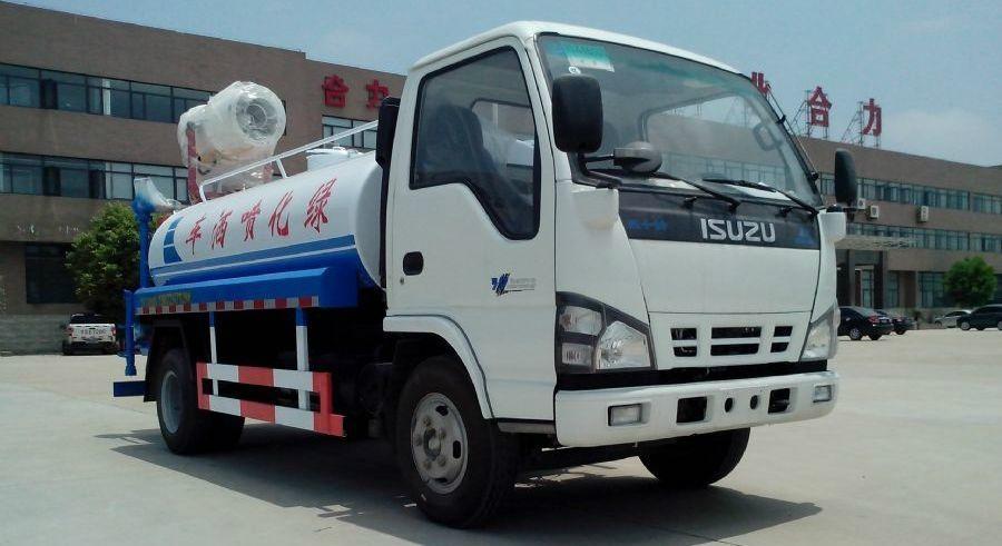 ISUZU 4000L-6000L water tank for sale 1
