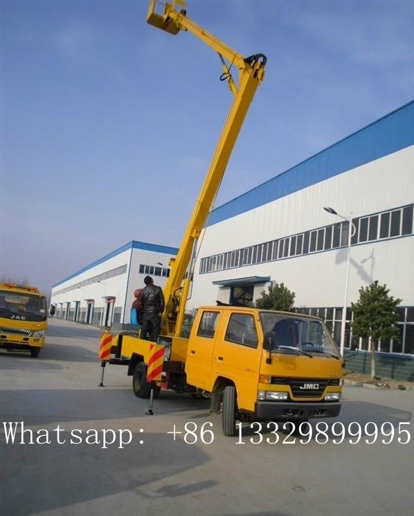 JMC double rows 14m-16m high altitude operation  truck for sale  4