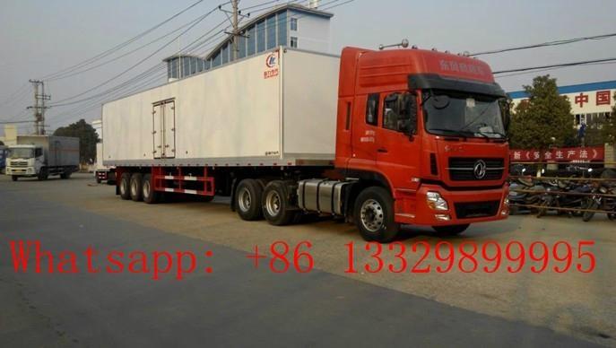 hot sale refrigerated semitrailer  1