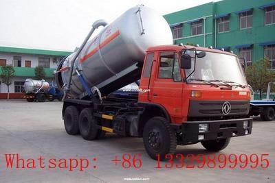 Dongfeng 16cbm sewage suction truck 1
