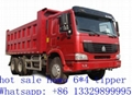 North benz 6*4 dump truck for sale