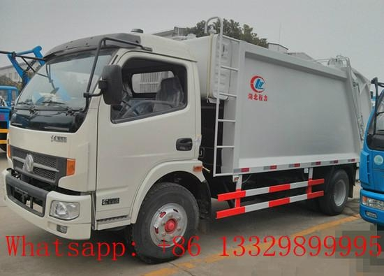 dongfeng 8cbm garbage compactor truck for sale  1