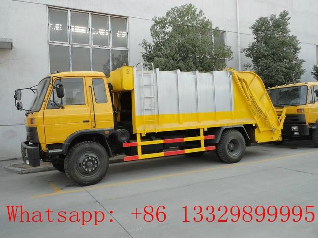dongfeng 8cbm garbage compactor truck for sale  2