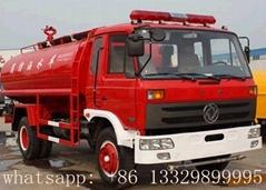 东风多利卡水罐消防车(国四4吨水罐消防车)