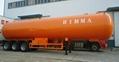 2 axles 40.5cbm LPG gas trailer for sale  3
