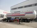2 axles 40.5cbm LPG gas trailer for sale  5