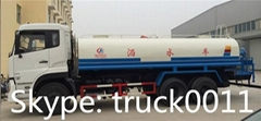 Dongfeng Kinland 6*4 water bowser truck for sale