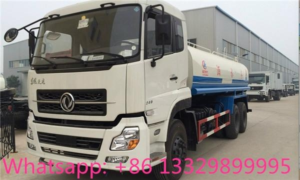 Dongfeng Kinland 6*4 water bowser truck for sale  4