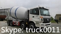 FOTON AUMAN 10cbm concrete mixer truck
