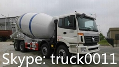 FOTON AUMAN 10cbm concrete mixer truck for sale