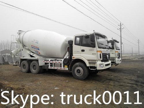 FOTON AUMAN 10cbm concrete mixer truck for sale  4