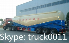 bulk cement powder semitrailer for sale