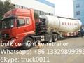 bulk cement powder semitrailer for sale 5