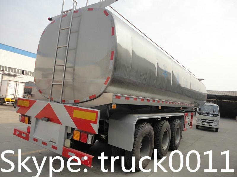 40000L-50000L milk tank trailer for sales  3