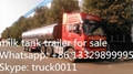 40000L-50000L milk tank trailer for sales  5