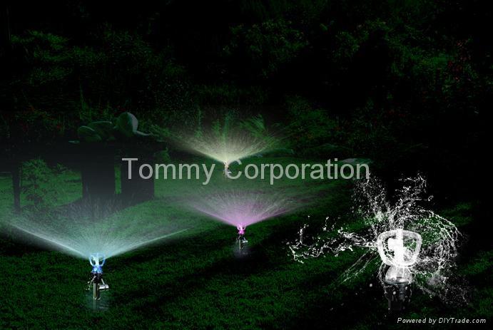 LED Garden Sprinkler 3