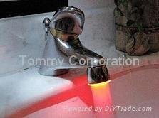 LED发光水龙头
