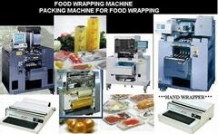 自动及手工包生鲜食品保鲜膜包装机