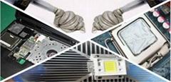 电源灌封胶厂家缩合型有机硅 HT-9918BK  A/B