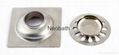 SS good quality kitchen and bathroom floor drain 10*10cm 4