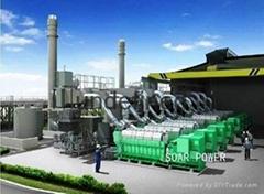 现代重油发电机组(1.1MW~21MW)