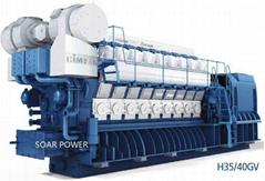 现代燃气发电机组(2.7MW~