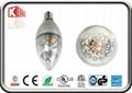 NEW 5w COB DIM LED Candle bulb 1