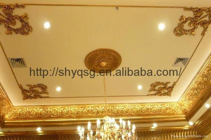 Decorative Fiberglass Gypsum Plaster Ceiling Frame