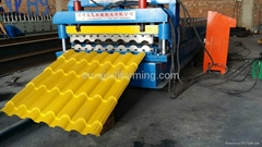 Color Steel Roof Tile Roll Forming Machine