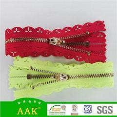#3 鍍金 花邊 閉尾鏈