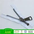 15# big teeth close end auto lock slider & puller metal zipper 2