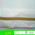 #3 Nylon gold teeth white tape yellow
