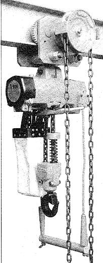 三荣气动葫芦-链条式移动