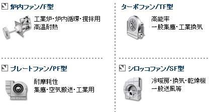 足立机工风机, ADACHI KIKO风机