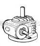 Mitsubishi三菱重工蜗