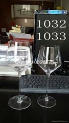 现货供应人工吹制水晶红酒玻璃杯