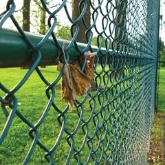garden decorative chain link fence