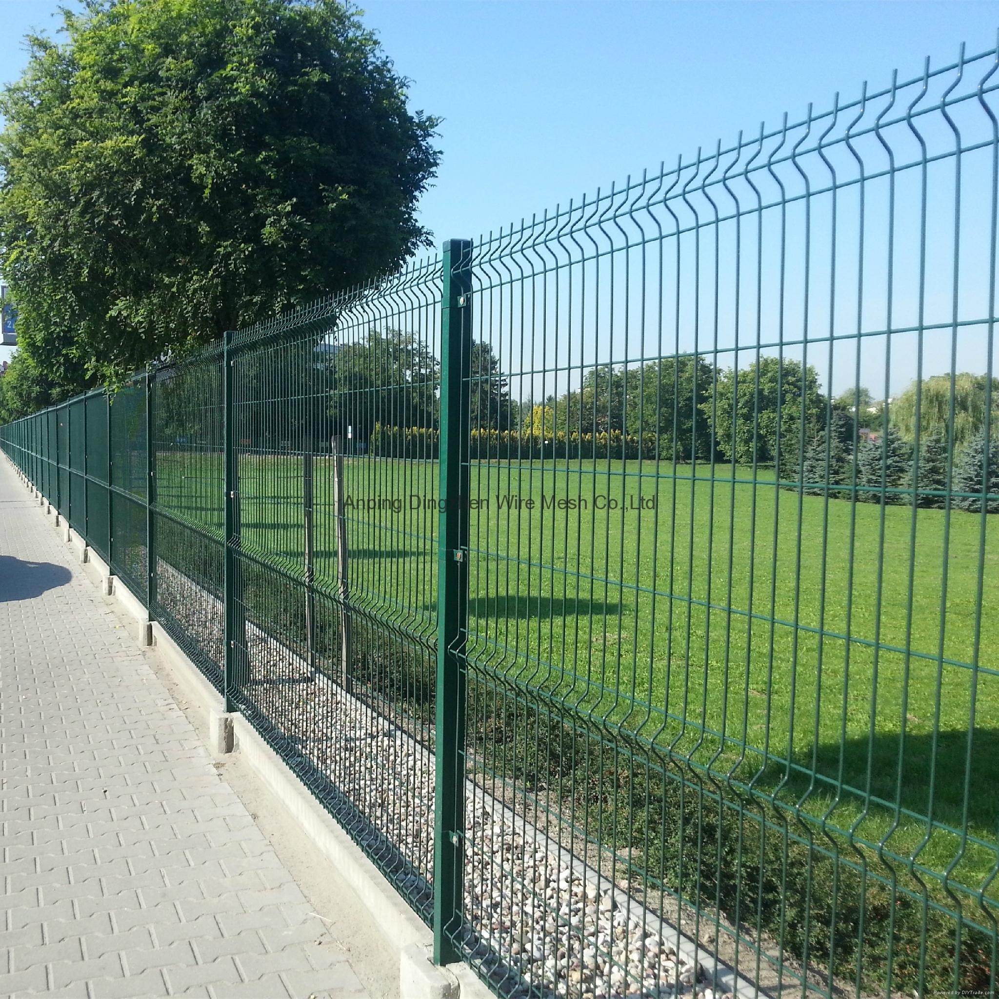 6 gauge welded wire mesh fence panels - DZ-J-Fence 02 - Dingzhen ...