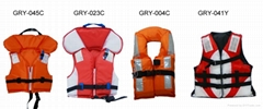 2016 New Design SOLAS Approved Marine Life Jacket