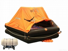 Marine Use Throw-overboard Tpye Cheap Life Raft for Sale
