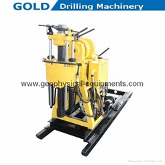 High Speed Diesel Engine High Efficiency Core Drilling Rig