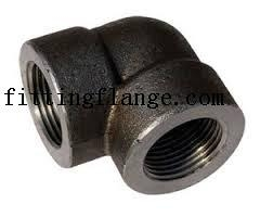 Forged Threaded Screwed High Pressure Carbon Steel Pipe Fitting 1