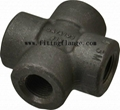 Forged Threaded Screwed High Pressure Carbon Steel Pipe Fitting 3