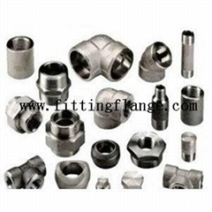 Forged 150lb-6000lb Threaded Socket Stainless Steel Fittings