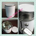 PQ Empty paint cans tin can