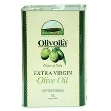0.5 - 18 L olive oil tinplate cans with plastic cap  1