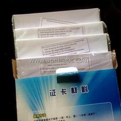 A4 Inkjet Printable Instant PVC Sheet White, Cards Material No-Laminate PVC Shee