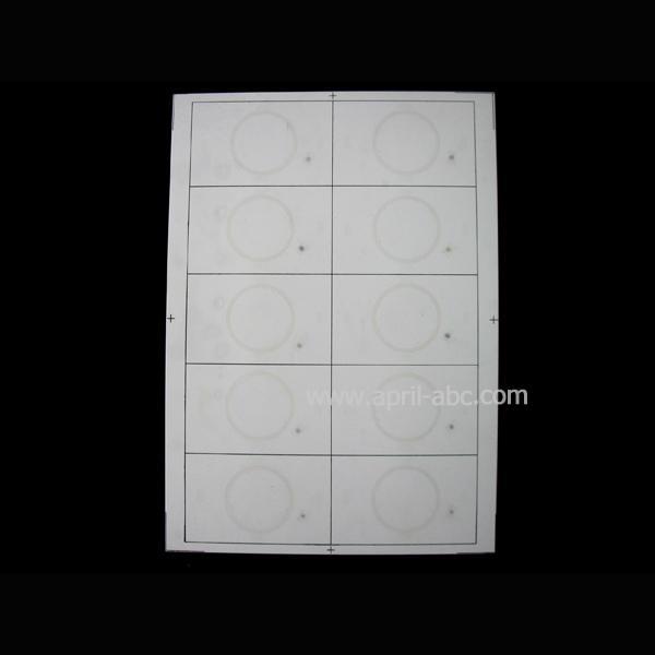 A4 2*5 Mifare Inlay ID Card Material Em4100/ Tk4100 1