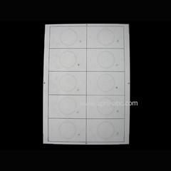 A4 2*5 Mifare Inlay ID Card Material Em4100/ Tk4100